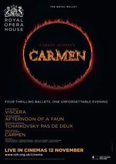 Carmen / Viscera / Aftrenoon of a Faun / Tchaikovsky Pas de Deux (Live) - Royal Opera House 2015/16